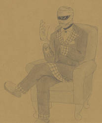 Invisible Man by Biofauna25