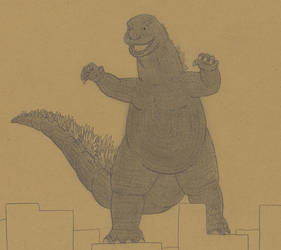 Godzilla by Biofauna25