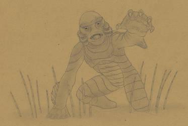 Gill-Man by Biofauna25
