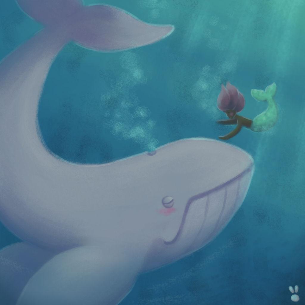 A friend approaches