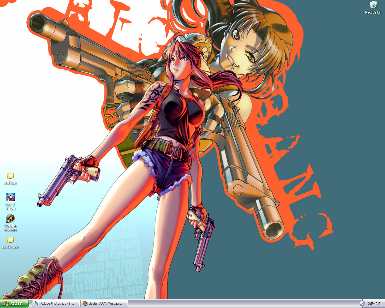 Revy the Two-Hands by peeping-doom