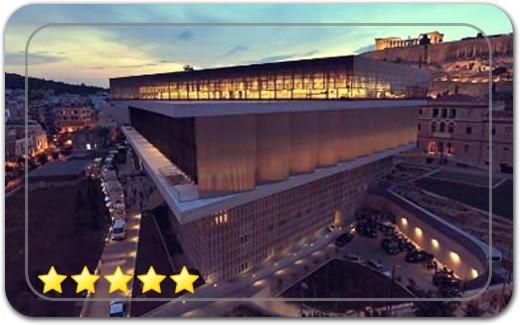 موزه آکروپولیس بزرگترین موزه یونان