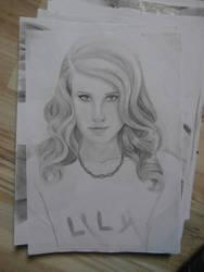 Lana Del Rey 01.11.2013 by Ametiste