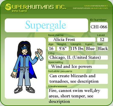 ID Card: Supergale by TimeSeerStudios