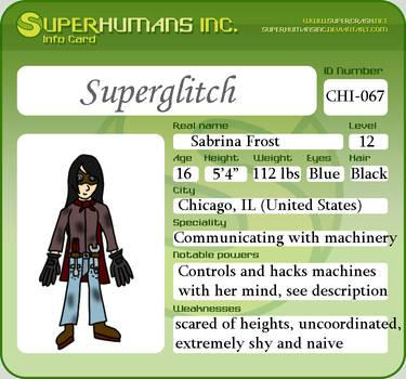 ID Card: Superglitch by TimeSeerStudios
