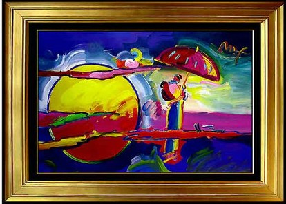 Peter max paintings by mikeathartan