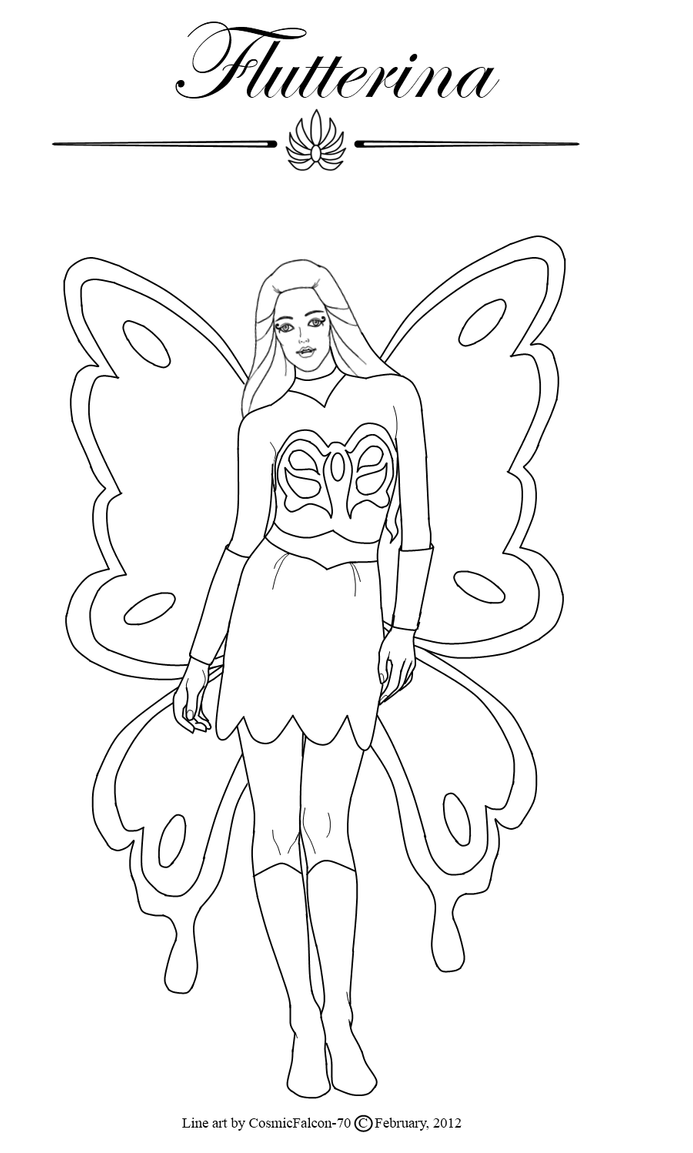 flutterina by cosmicfalcon 70 on deviantart