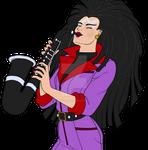 Jetta Playing Saxophone