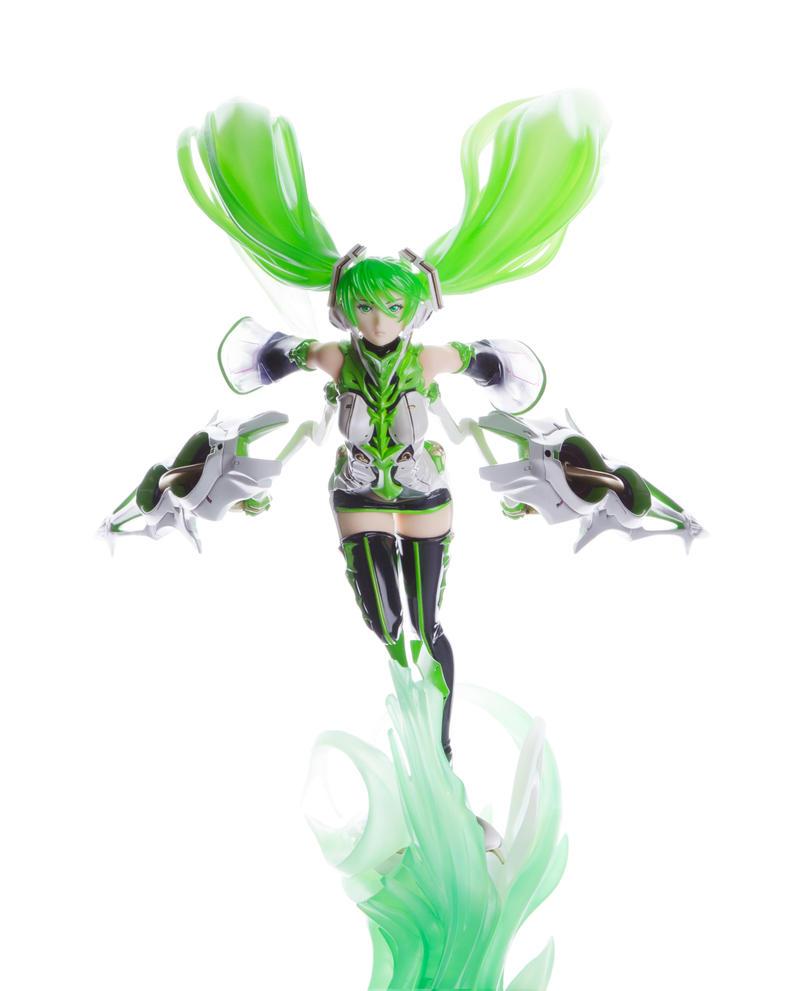 Green Lightning by Rryu