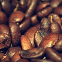 Coffee granules by black-ladybird