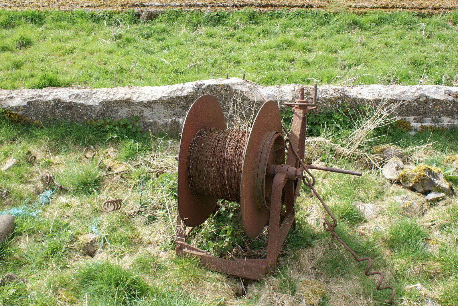 Cable Laying On Ground Art : Ww cable laying reel by sgtgrech on deviantart