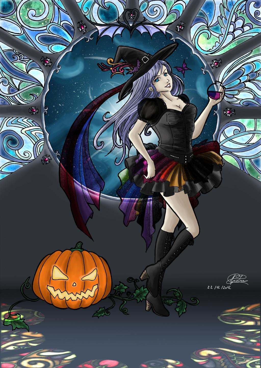 Digital witch by myssbluestar