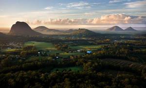 Morning on Mt Ngun Ngun