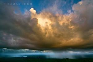 Rain From A Fireball by eye-of-tom