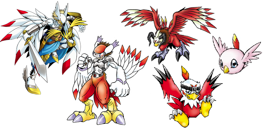 DIGIMON: the hopeful Hawkmon_evolution_line_by_kjg123-daxmgsf