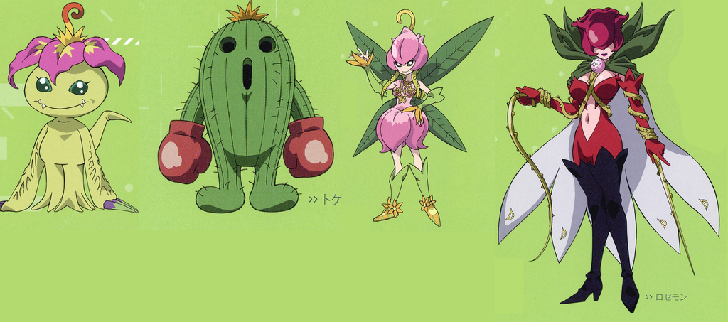 digimon palmon evolution - photo #7