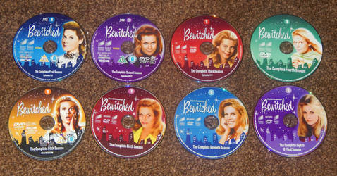Bewitched DVDs by kjg123