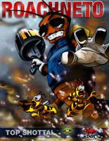 Roachneto Comic Cover - Top Shotta