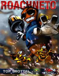 Roachneto Comic Cover