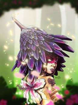 Hummingbird Queen