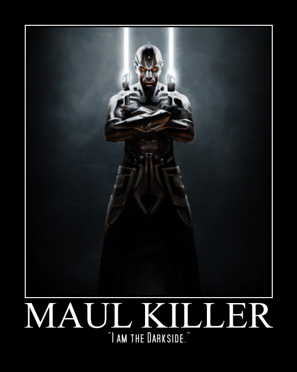 Maul Killer by T-Biggz