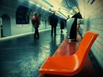 Subway station Paris