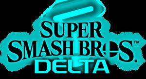 Super Smash Bros. Delta logo (fangame concept)
