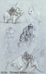 Grimm Tundra raider SketchBook