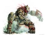 Rage Golem by mr-nick