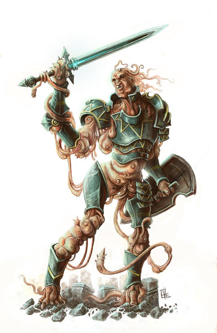 Flesh Knight by mr-nick