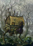 The hopping hut of Baba Gaga
