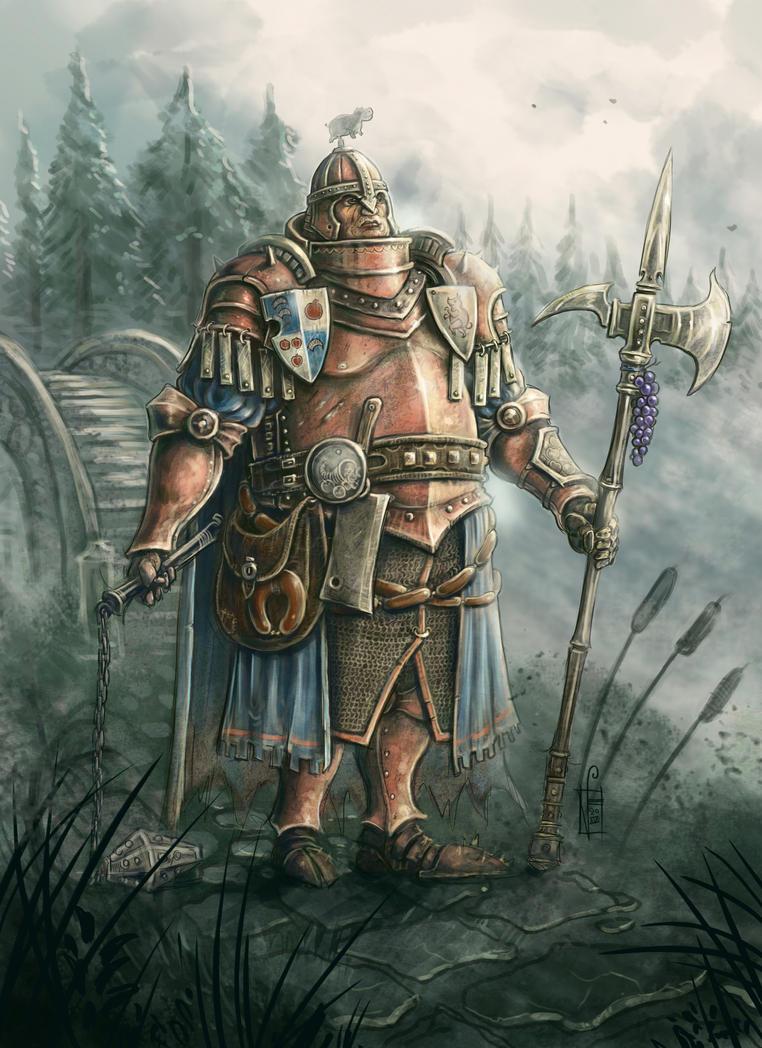 Sir Hamfast the Steady by mr-nick