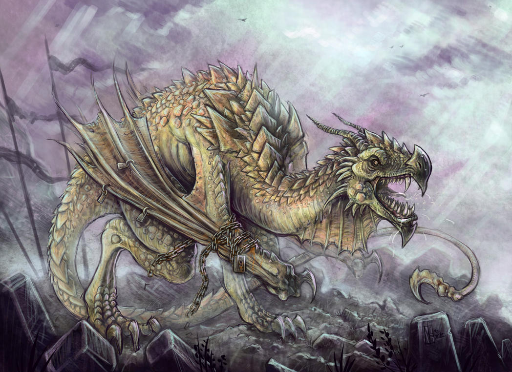 Earthbound Wyvern by mr-nick