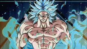 Broly the Legendary Super Saiyan God Super Saiyan
