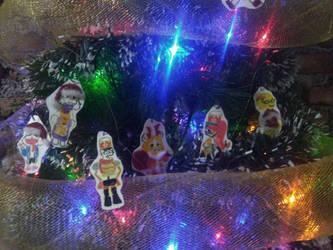 en el arbol de Navidad (2) by Anabelias