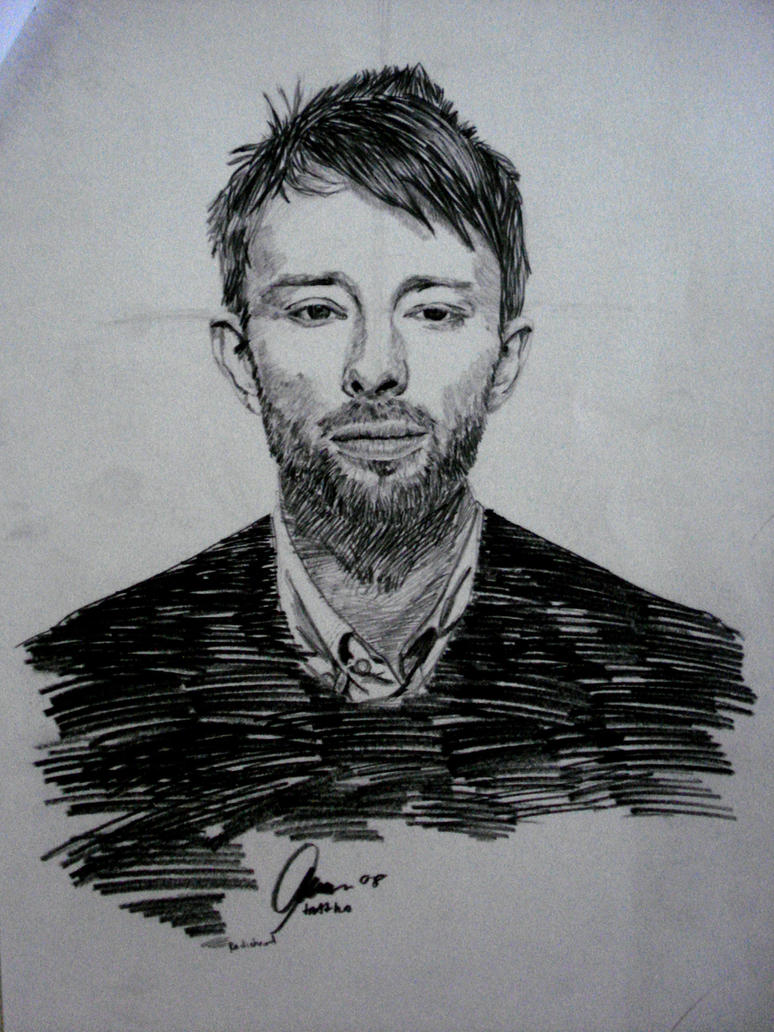 Thom Yorke of Radiohead by tartyhoLAR