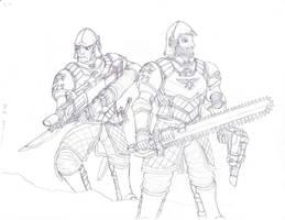 House Stark Guardsmen