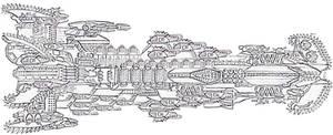 Strato-Krork ship