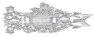 Krork Battlecruiser