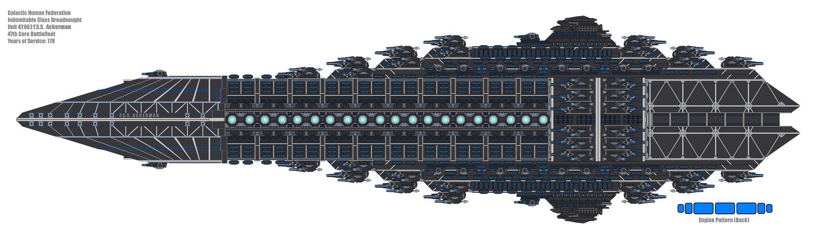 DAOT Indomitable class Bravo Configuration