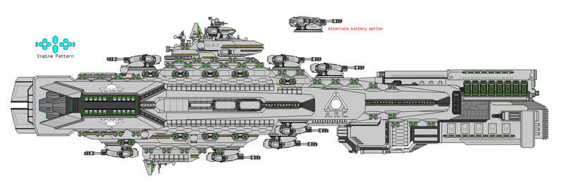 Doom ARC battlecruiser 01