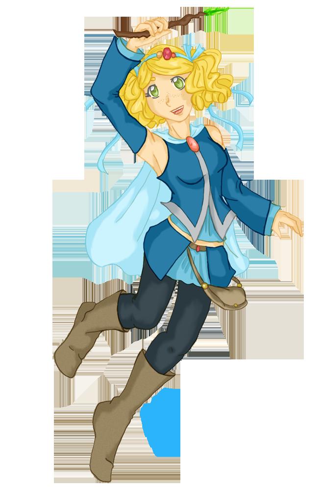 Character Design- Aylie by StegeKay