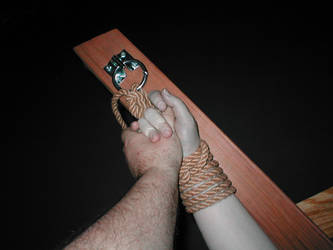 Hands and rope by Collarsmith