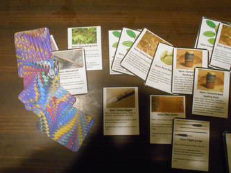 Roleplaying system cards by Collarsmith