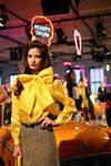 Kate Spade 2013 Yellow bow blouse