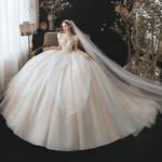 Enormous wedding dress