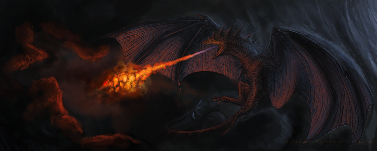 Wyvern by TheBlack-Arrow