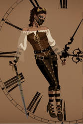 Steampunk Princess by giggle-bunny