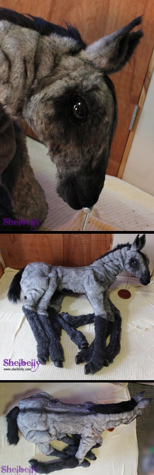 Sleipnir Puppet by shelbelly
