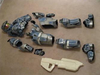 Mark VI Halo Armor by The-Midnight-Angel